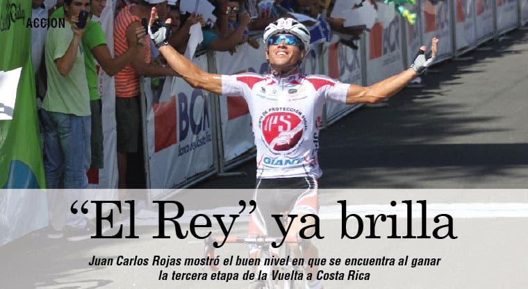 """""""El Rey"""" muestra sus armas"""