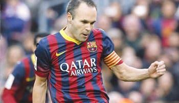 Iniesta sigue fiel al Barça