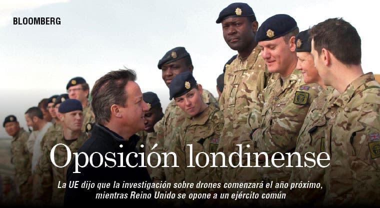 Reino Unido se opone a ejército único