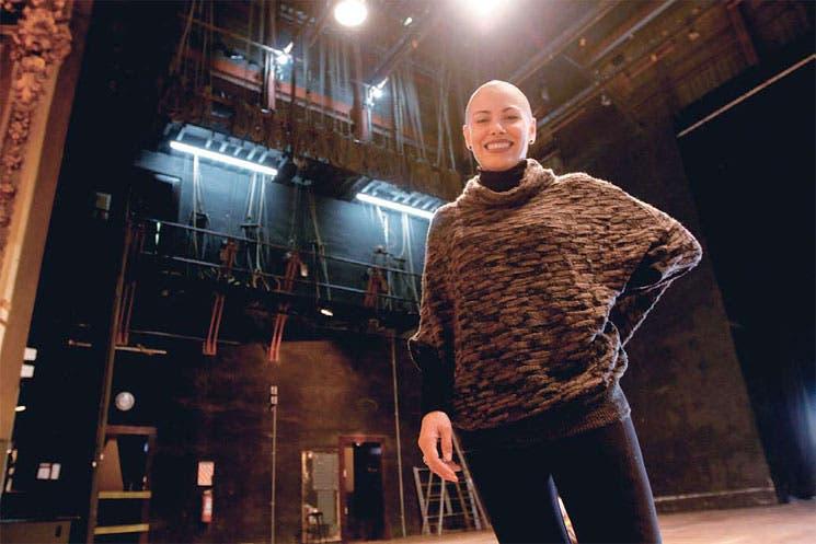 Escenario del Teatro Nacional es remozado