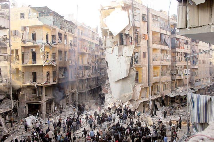 Siria cierra semana con bombardeos del régimen