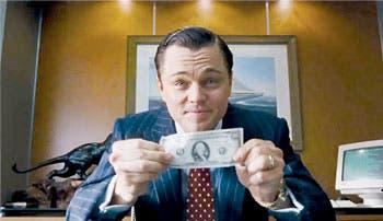 """DiCaprio y Scorsese muestran a los """"lobos"""" de Wall Street"""