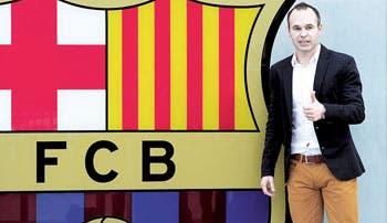Iniesta firmó su renovación