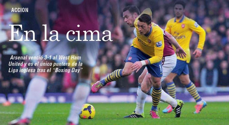 Redondo día para el Arsenal