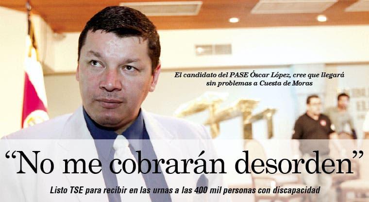 """""""No me cobrarán desastre del PASE"""": López"""