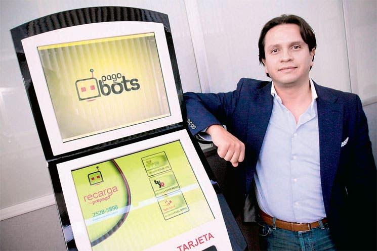 Pagobots facilitan pago de servicios