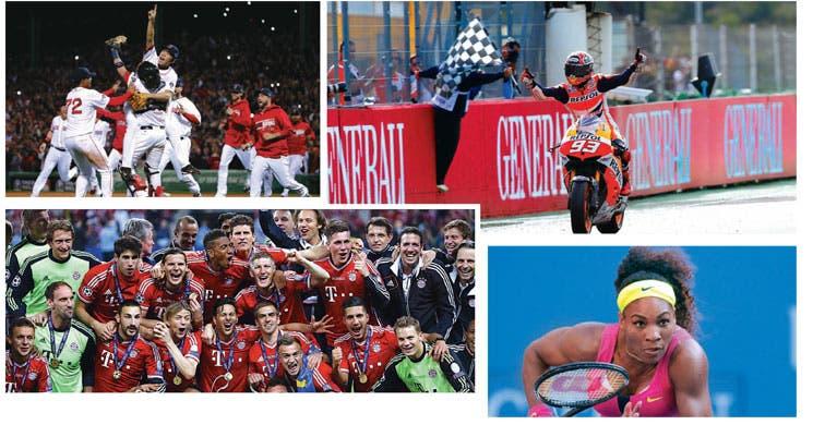 Los campeones de 2013