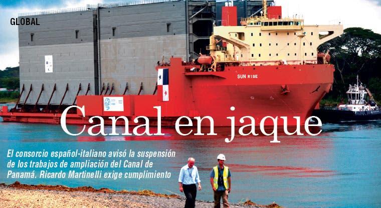 Ampliación de canal de Panamá en jaque