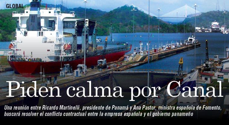 Panamá asegura ampliación de Canal