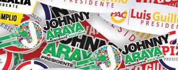Araya y Villalta: los más seguidos