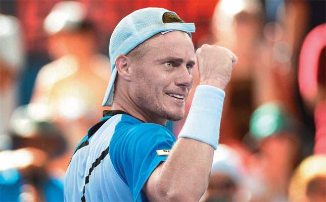 Hewitt hunde a Federer