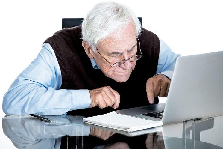 """Abuelo, sube la foto al Facebook"""