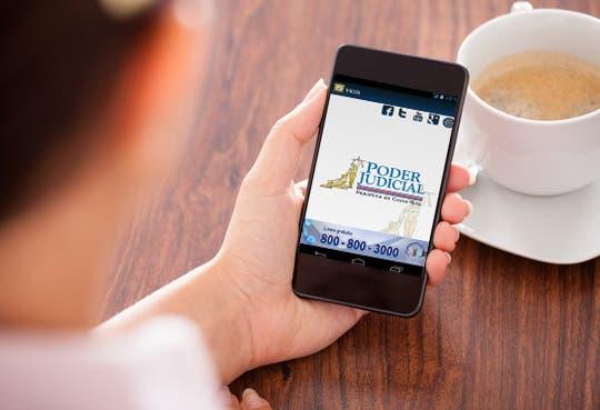App brinda servicios judiciales las 24 horas