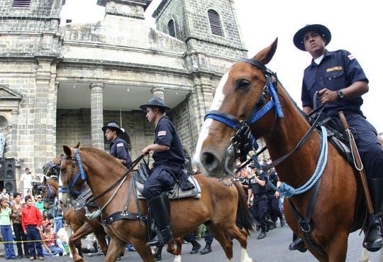 Más de mil policías a Festejos en Palmares