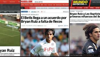 Ruiz rumbo a España