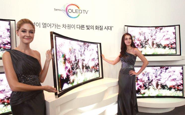 Televisores curvos, la nueva tendencia