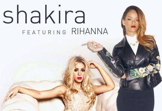 Escuche el nuevo sencillo de Shakira grabado con Rihanna