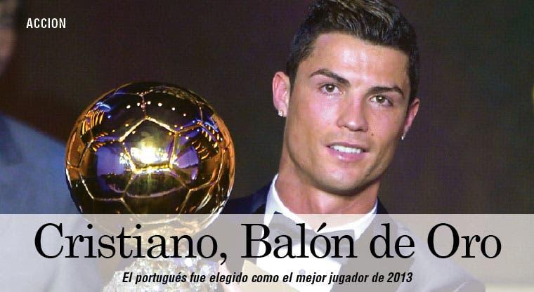 Cristiano, el mejor de 2013