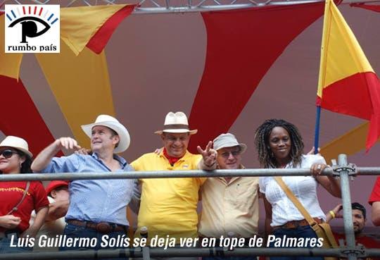 PAC monta su tarima en Palmares