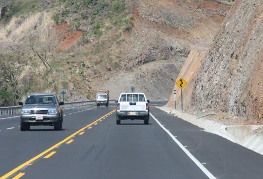 Ruta 27 con carril reversible