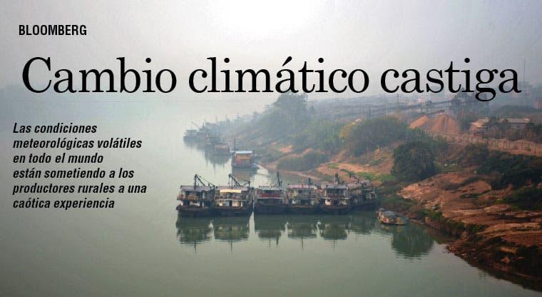Productores del mundo sufren por cambio climático