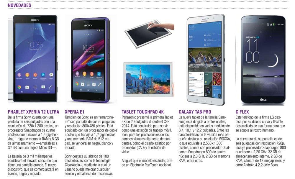 Tablets y smartphones se renuevan