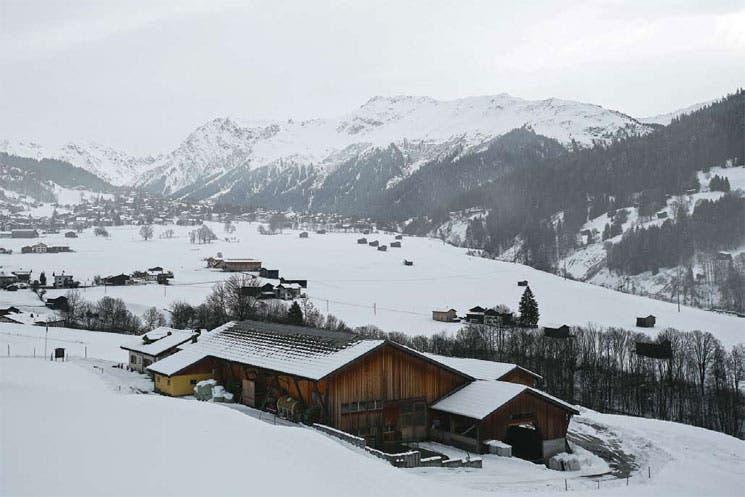Davos le enseña a China a esquiar