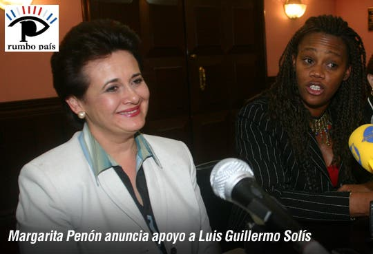 Margarita Penón se adhiere al PAC [Video]