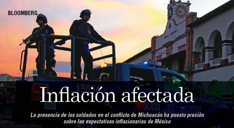Violencia en México juega con inflación