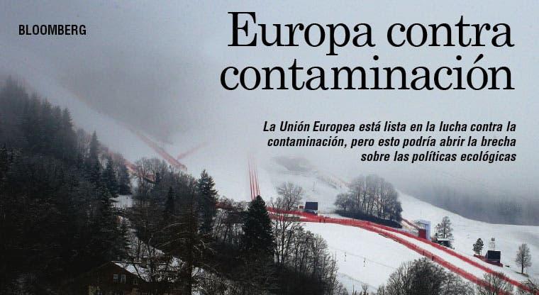 Europa dividida sobre límites a contaminantes