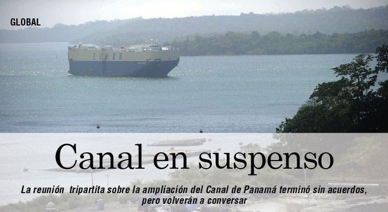 En suspenso ampliación del Canal