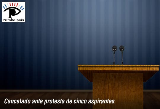 Cancelan debate de UCR