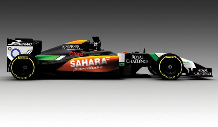 Force India presentó su monoplaza