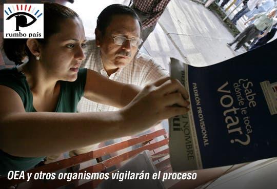 Elecciones tendrán observación internacional