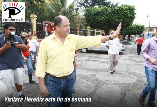 Solís cerrará campaña con caminata de mascotas