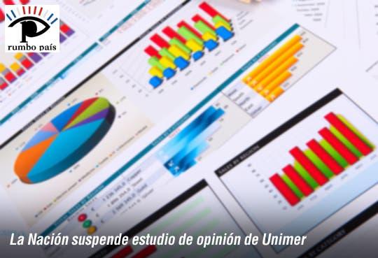 Suspende encuesta La Nación