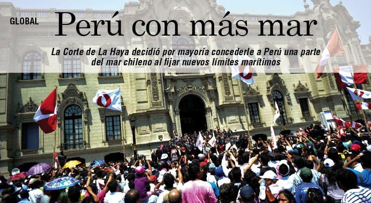CIJ concede a Perú una parte del mar chileno