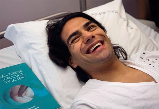 Falcao fue dado de alta tras operación