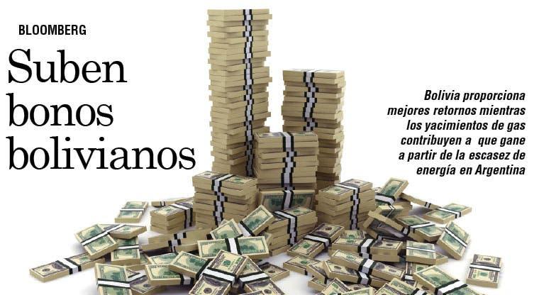 Caos de Argentina sube bonos bolivianos