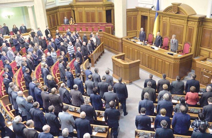 Dimite gobierno ucraniano tras presión opositora