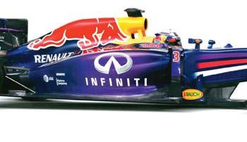 Principales monoplazas de la F1