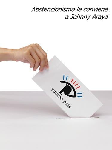 Araya ganaría, si abstencionismo crece poco más de 4%