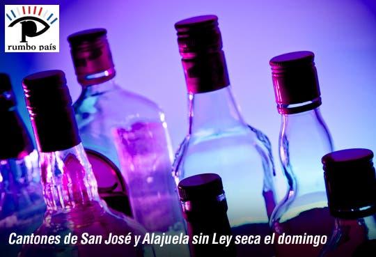 Municipalidad de San José y Alajuela sin Ley seca