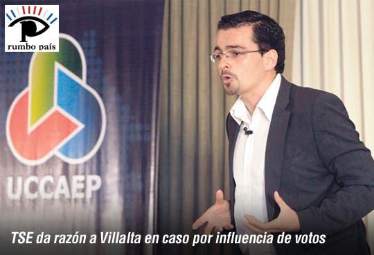 Villalta logra detener intromisión empresarial