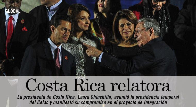 Costa Rica asume la presidencia de la Celac