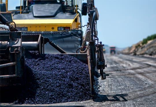 Sector vial de la Garita pronto con asfalto nuevo