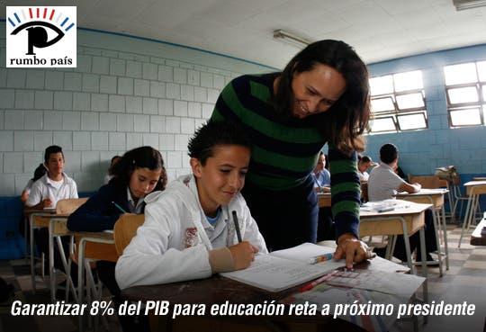Próximo gobierno deberá invertir más en educación