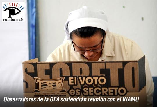 Derechos políticos femeninos inspeccionados por OEA