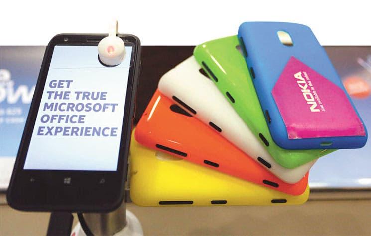 Motorola enseña a Microsoft