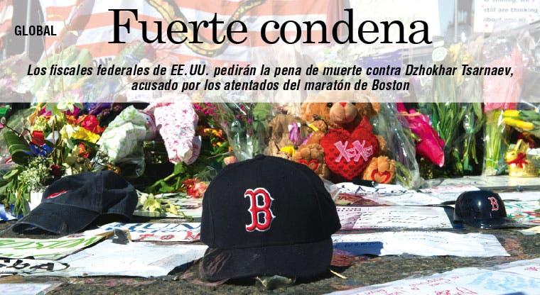 Pena de muerte para Tsarnaev por atentado de Boston